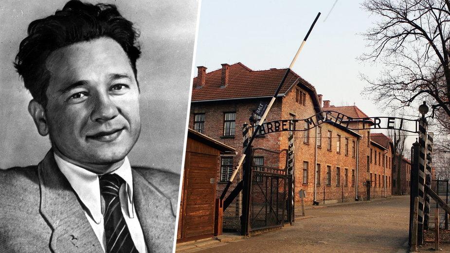 Tadeusz Borowski i brama Auschwitz
