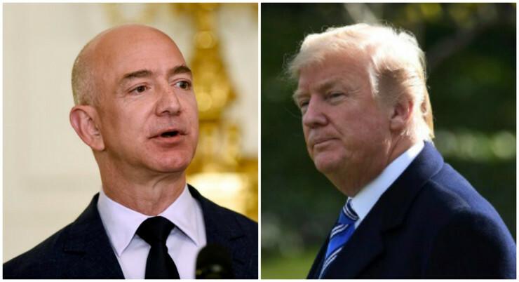 Donald Tramp, Džef Bezos