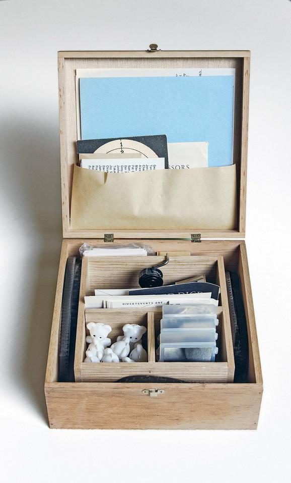 Fluksus - godišnja kutija 2, 1966/68, uredio Džordž Mekjunas, kolekcija MSUB