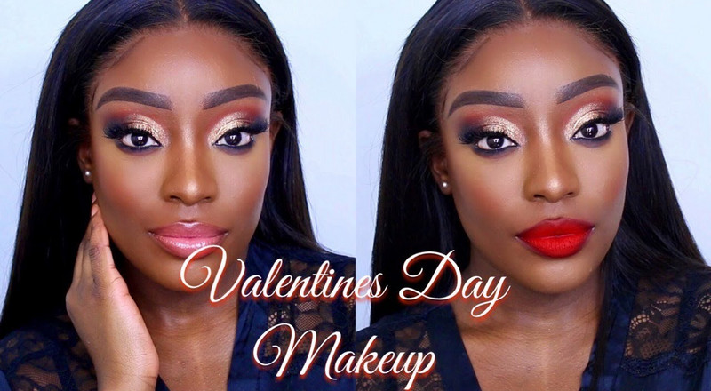 This 7-minute video will get you makeup-ready for Valentine's Day