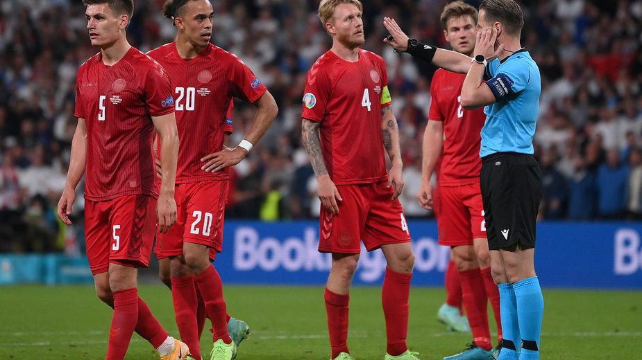 UEFA uznała, że decyzja arbitra Danny'ego Makkelie w półfinale była słuszna