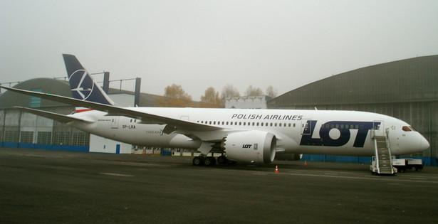Boeing 787 wystartował z lotniska w Everett koło Seattle około 7.00 naszego czasu.