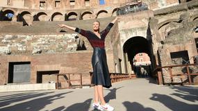Maria Szarapowa wybrała się do Koloseum. Co sądzicie o jej stylizacji?