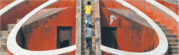 Obserwatorium astronomiczne w Jantar Mantar w Indiach – jedno z 25 miejsc wpisanych w tym roku na listę UNESCO Fot. Reuters/Forum