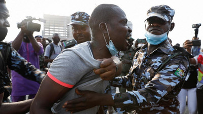Police vow to punish officers responsible for molestation of arrested protesters