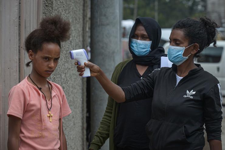 Adis Abeba etiopija koronavirus