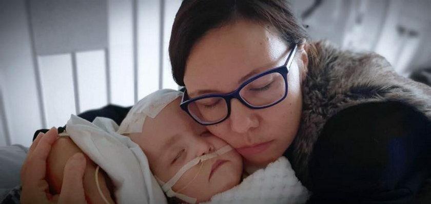 Hania Terlecka z mamą