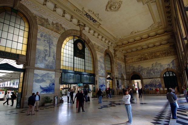 Dworzec São Bento, Porto