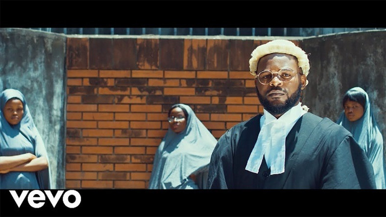 Falz in the 'Talk' video (Youtube/Falz)
