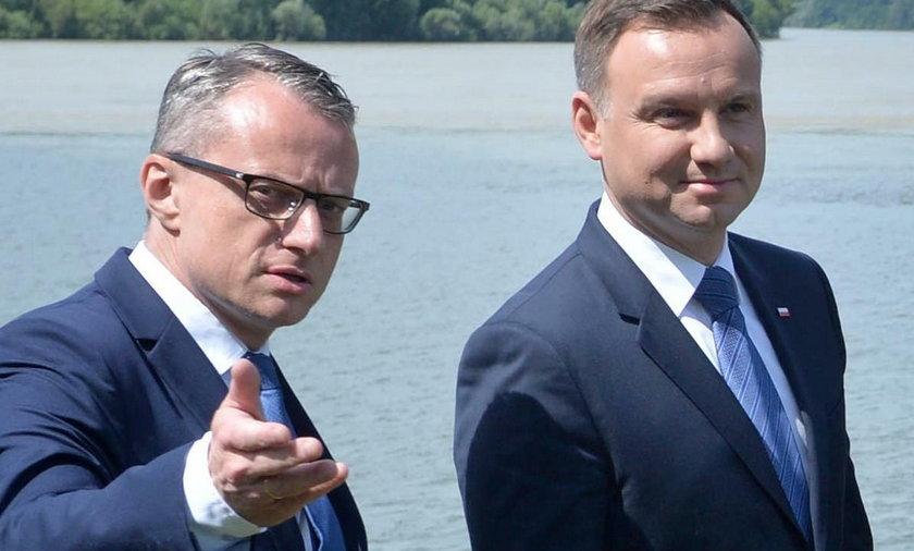 Andrzej Duda, Marek Magierowski.