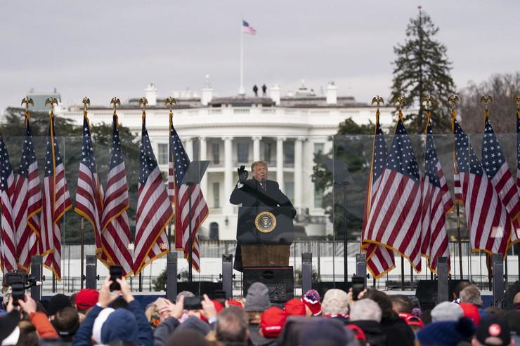 Vašington protest Trampovih pristalica