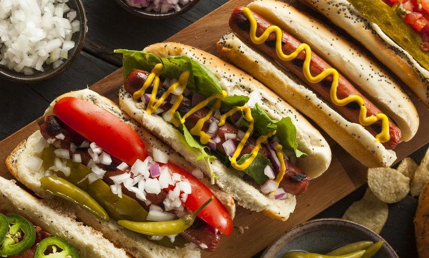 Hot dogi w Burger King