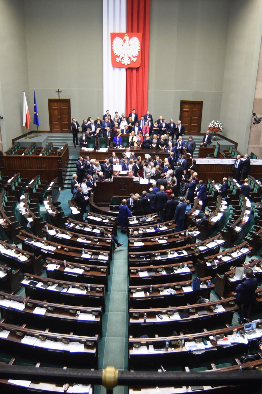 Godło Polski w Sejmie