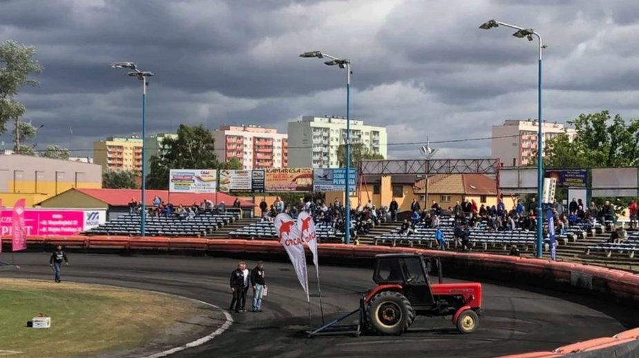 Stadion żużlowy w Pile