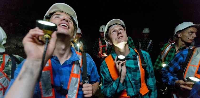 Piłkarze Zagłębia w kopalni. Zobaczyli, na czym polega ciężka praca