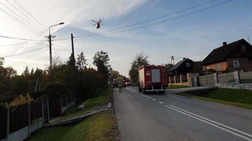 Tragiczny wypadek w Gilowicach