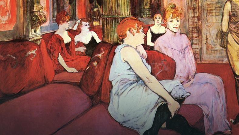 """Henri de Toulouse-Lautrec, """"Paryskie prostytutki"""""""