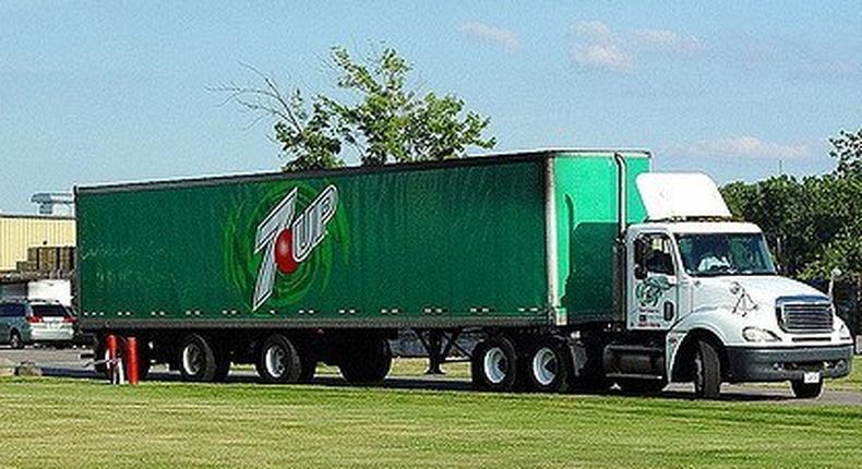 7up truck (Illustration)