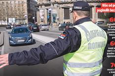 grafika saobracajna policija statistike brojke foto RAS