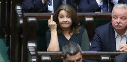 Skandaliczne zachowanie Lichockiej w Sejmie