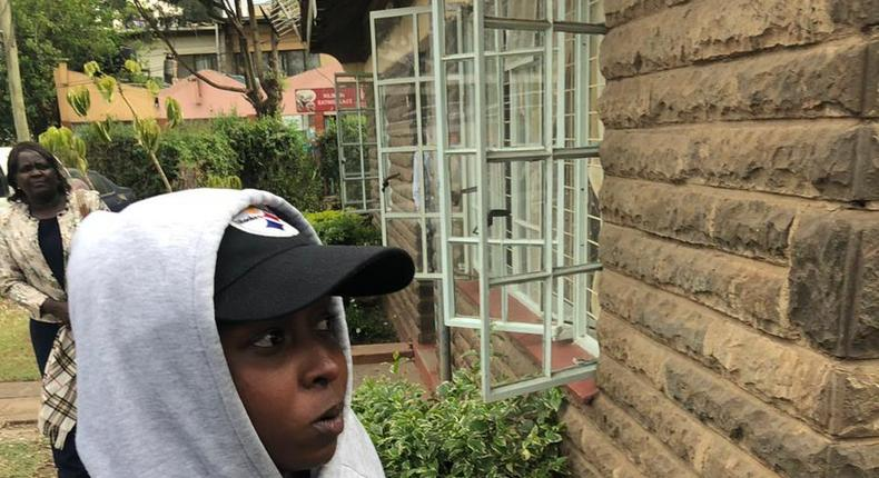 Jacque Maribe at Kilimani Police. What Jacque Maribe told Detective over murder of Monica Kimani