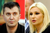 zoran đorđević zorana mihajlović kombo pokrivalica foto RAS Srbija