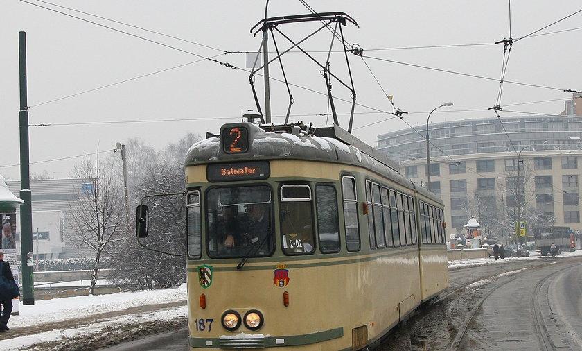 Ostatni przejazd tramwaju GT6.