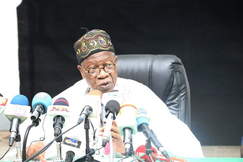 Information Minister, Lai Mohammed, says Atiku is planning to declare himself president.