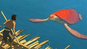 """""""Czerwony żółw"""": kadr z filmu"""