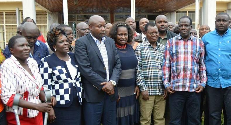 Kakamega County leaders