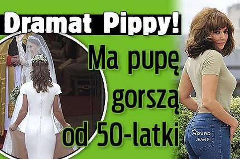 Dramat Pippy! Ma pupę gorszą od 50-latki
