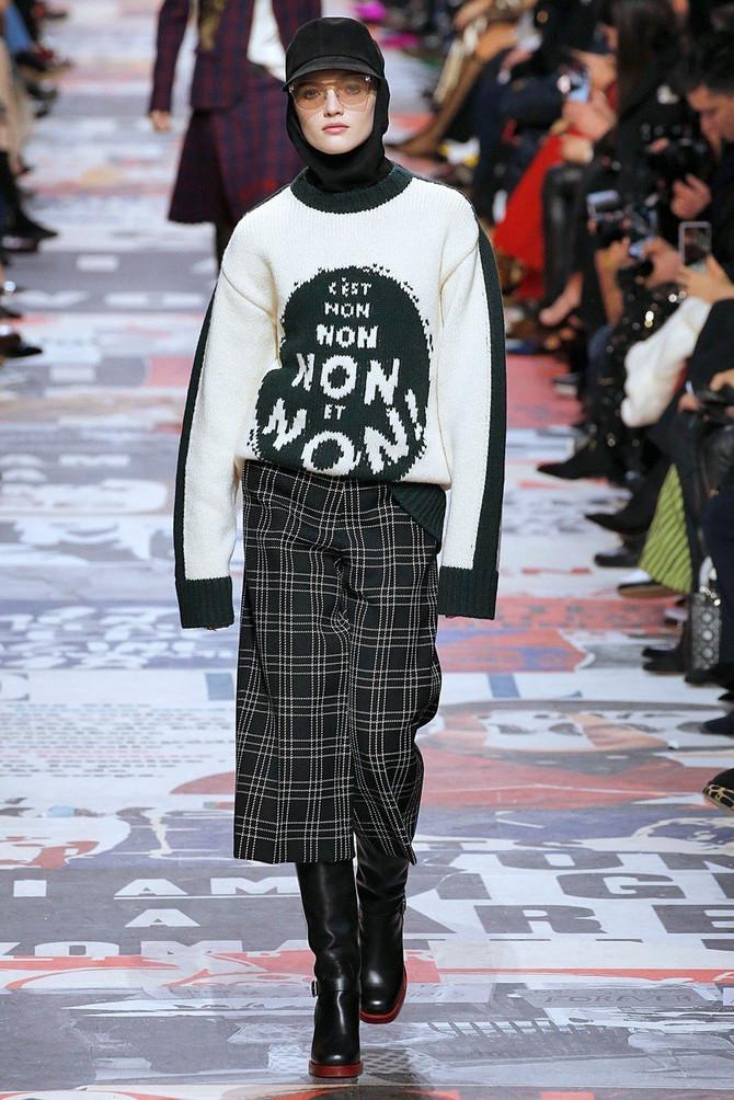 """Rut Bel u džemperu s natpisom """"Ne, ne, ne"""""""