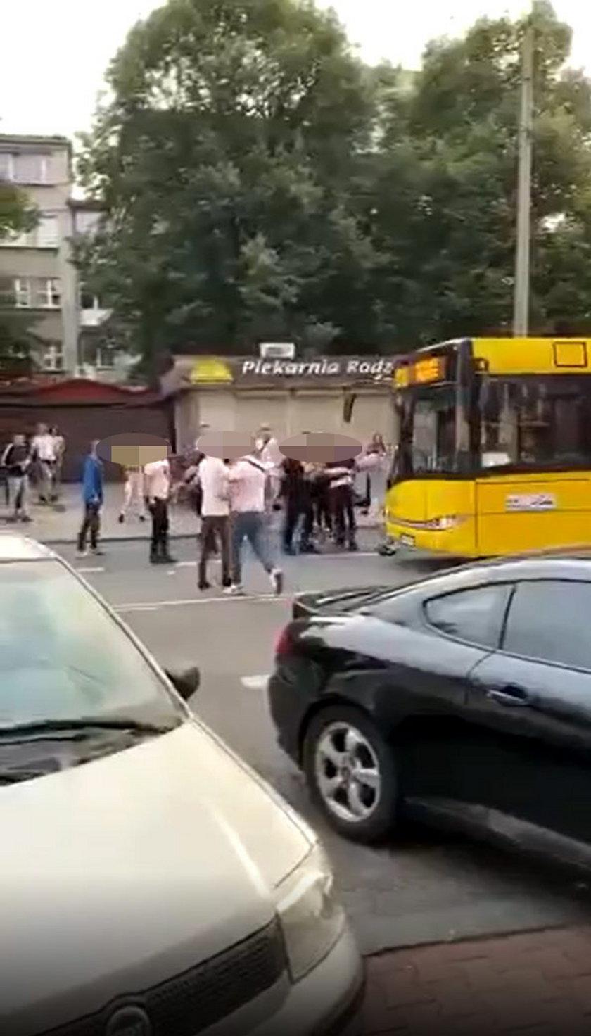 Makabryczne nagranie z Katowic.