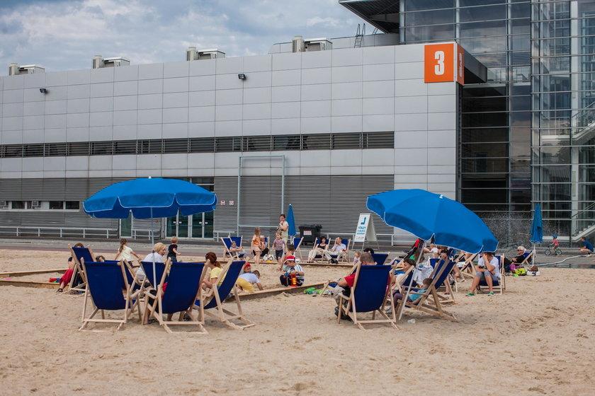 Plaża na MTP