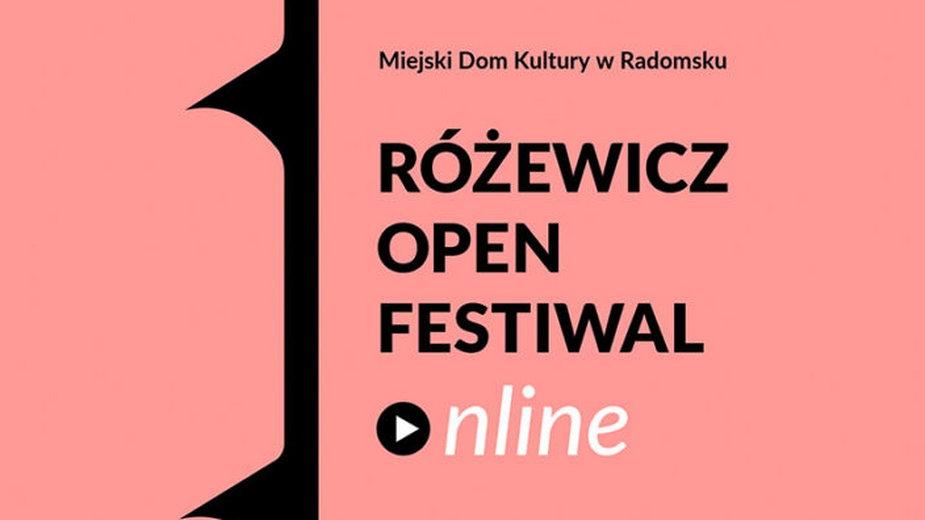 Różewicz Open Festiwal Online