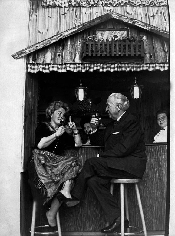 Magda Šnajder sa Hansom Herbertom Blachajmom u Nemačkoj šezdesetih godina