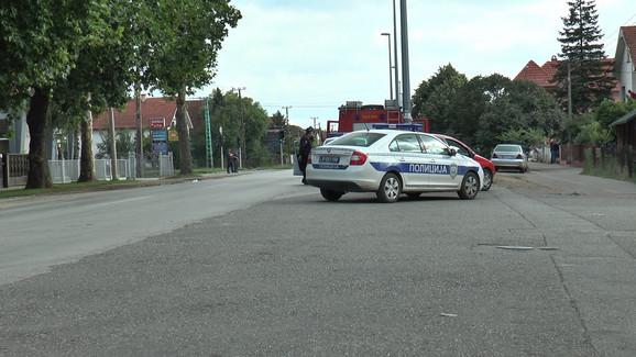 Policija obezbedila ulicu