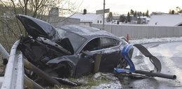 Pijany sportowiec spowodował wypadek!