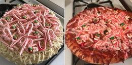 Pokazała świąteczną pizzę. To jakiś żart?