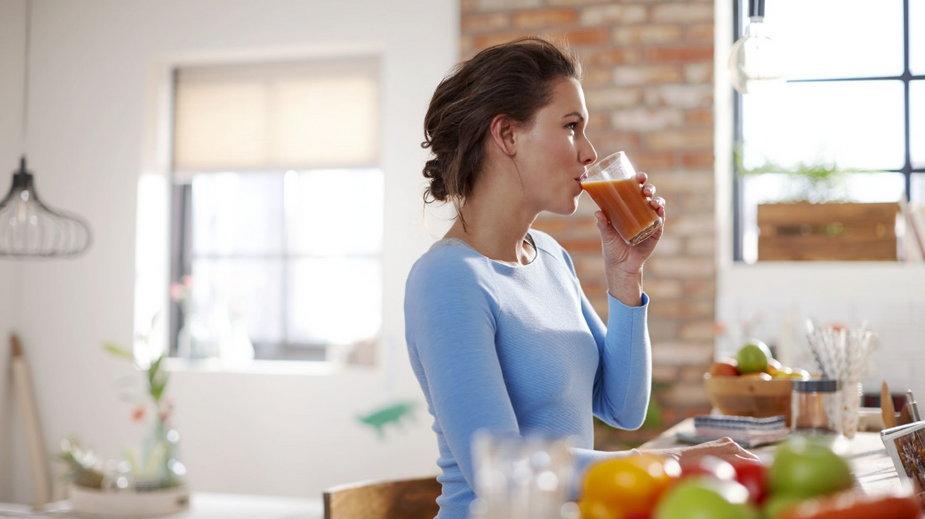 Przepisy na soki i koktajle dla kobiet w ciąży