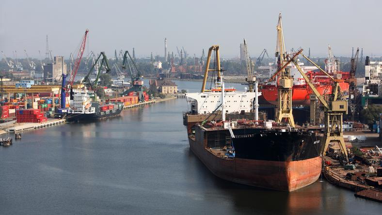Gdański port