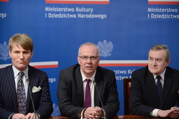Michał Gieleta, Marek Mikos, prof. Piotr Gliński