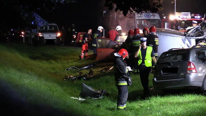 Tragiczny wypadek pod Piłą. Nie żyją cztery osoby
