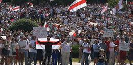 Wielkie manifestacje na Białorusi