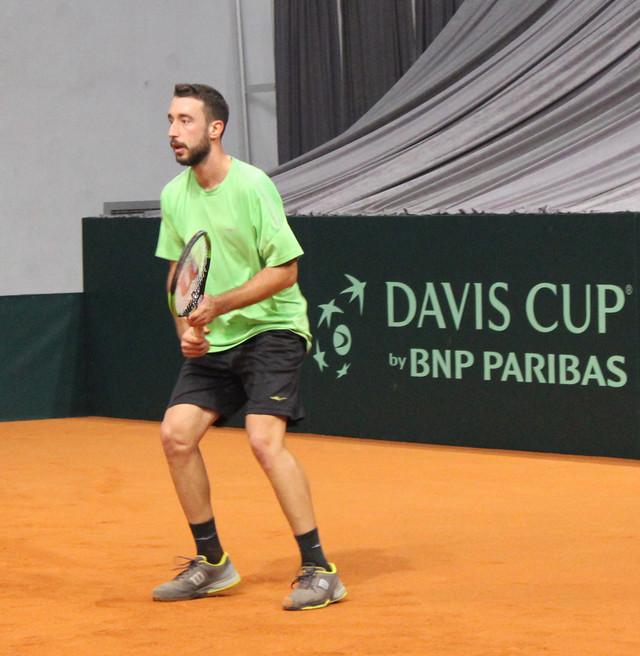 Nikola Milojević tokom jednog od treninga u Čairu