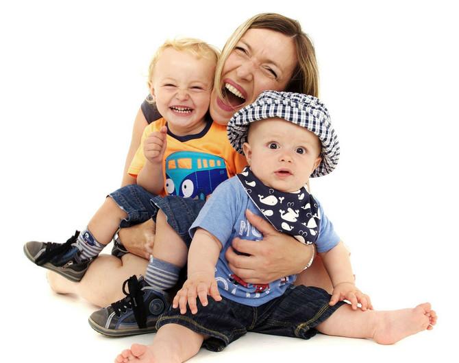 Nataša Jeremić sa sinovima Lukom i Aleksandrom