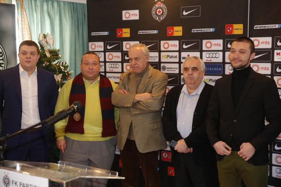 Uprava FK Partizan