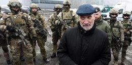 Klęli i złorzeczyli przed szkoleniem armii Macierewicza