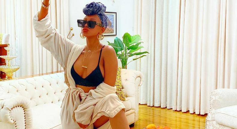 I have never been single – Huddah Monroe