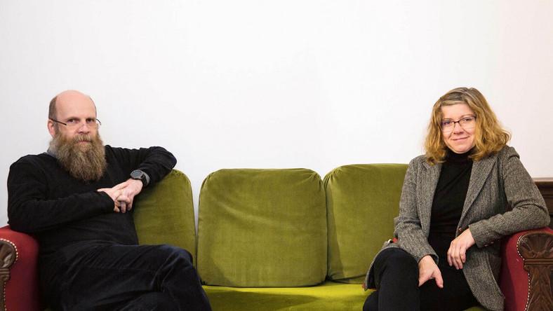 Ks. Grzegorz Strzelczyk i Marta Titaniec